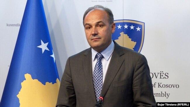 Ministri në detyrë, Enver Hoxhaj