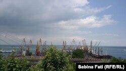 Odesa 2016, portul industrial