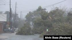 Jak vetar i poplava u Portoriku, septembar 2017.