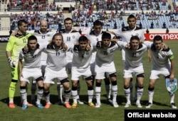 Футболдан Өзбекстан құрамасы. Сурет ФИФА-ның ресми сайтынан алынды.