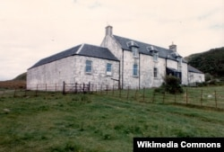 Дом Джорджа Оруэлла на острове Джура