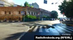 Cтаровинна садиба на розі вулиць Волоської, Борисоглібської та Набережно-Хрещатицької у Києві