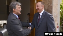 A.Gül və İ.Əliyev