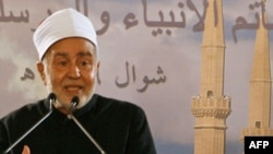 Sheikh Muhammad Sayed Tantawi in 2008 during a visit to Lebanon