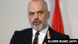 Albanian Prime Minister Edi Rama has says Albania will not change its position on giving shelter to members of an Iranian opposition group.
