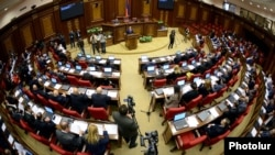 Armenia - A parliament session in Yerevan.