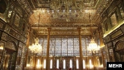 Iran's Golestan Palace is one of several sites that UNESCO has added to its World Heritage list. (file photo)