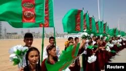 Церемония открытия нового объекта в Туркменистане (архивное фото)