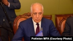 U.S. Envoy Zalmay Khalilzad arrived in Islamabad on January 17 to meet with Pakistani authorities.