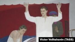 """Фрагмент репродукции картины Д. Жилинского """"1937 год"""""""