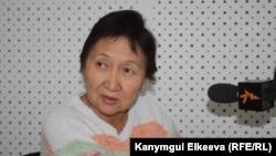 "Kyrgyzstan -- Aziza Abdirasulova, director of the human rights organization ""Kylym Shamy"", Bishkek, 04Oct2012"