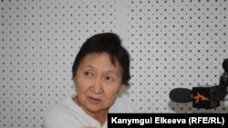 Правозащитник Азиза Абдирасулова. Бишкек, 4 октября 2012 года.