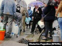 После наводнения в Туапсе дефицит чистой воды