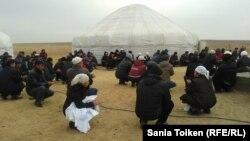 Аул Тенге, Мангыстауская область, 9 декабря 2012 года.