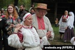 Падчас фэстывалю нацыянальных культур у Іркуцку