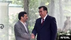Эмомали Рахмон и Махмуд Ахмадинежад