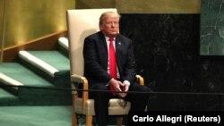 Після двох виступів делегатів президент США Дональд Трамп покинув саміт (фото архівне)