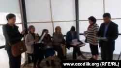 23 июля в Ташкенте была задержана группа женщин, пришедшая с жалобами к президенту Узбекистана.
