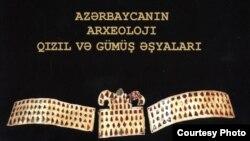 """""""Azərbaycanın arxeoloji qızıl və gümüş əşyaları"""" kataloqu"""