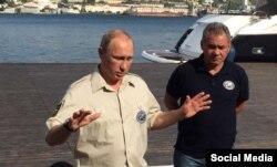 Владимир Путин в Крыму, август 2015 года