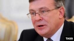 Міністр закордонних справ Леонід Кожара