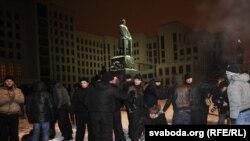 Протести на опозицијата во Белорусија