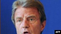 برنار کوشنر، وزیر خارجه فرانسه
