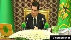 Президент ТуркменистанаГурбангулы Бердымухамедов