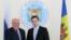 Adjunctul ministrului rus de externe Grigori Karasin și ministrul moldovean de externe, Tudor Ulianovschi - Chișinău, 21 martie 2018