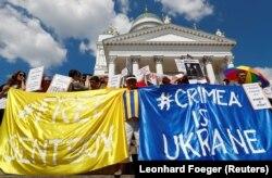 Протест в Хельсинки 15 июля