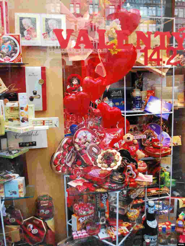 حال و هوای والنتاین در فروشگاههای پراگ: عکسهایی از امیر زمانیفر
