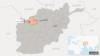 ولایت بادغیس در نقشه عمومی افغانستان