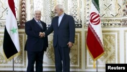 Mohammad Javad Zarif və Walid al-Moualem