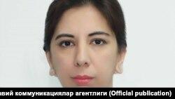 Ўзбекистон Mатбуот ва ахборот агентлиги бош директори ўринбосари Наргиза Раҳимова