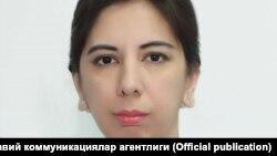 Өзбекстан президенті әкімшілігі жанындағы баспасөз және ақпарат агенттігі директорының орынбасары Наргиза Рахимова.