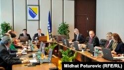 Sa jedne od sjednica Vijeća ministara BiH