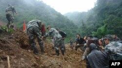 Архівне фото: руйнівні зсуви ґрунту в Китаї не рідкість