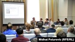 Sa konferencije u Sarajevu, foto: Midhat Poturović