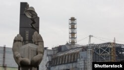 1986 жылы 26 сәуірде апат болған Чернобыль АЭС-інің төртінші блогы. Украина, 21 сәуір 2016 жыл.