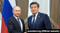 В.Путин и С.Жээнбеков