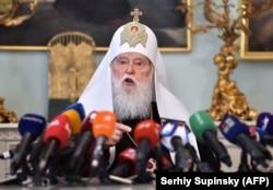 Филарет объявил о своих намерениях на пресс-конференции в Киеве 15 мая