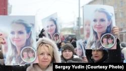 Акция в поддержку Ольги Залетской в Петрозаводске