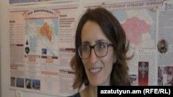 Լիճքի դպրոցի պատմության ուսուցիչ Թագուհի Մարգարյանը:
