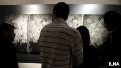 نمایشگاه هدیه تهرانی در خانه هنرمندان ایران