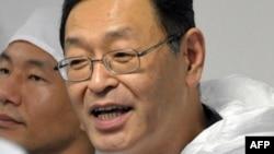 """Бывший директор АЭС """"Фукусима"""" Масао Йошида в ноябре 2011 года."""
