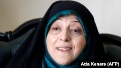 Масум Эбтекар, Иранның әйелдер және отбасы ісі жөніндегі вице-президенті.