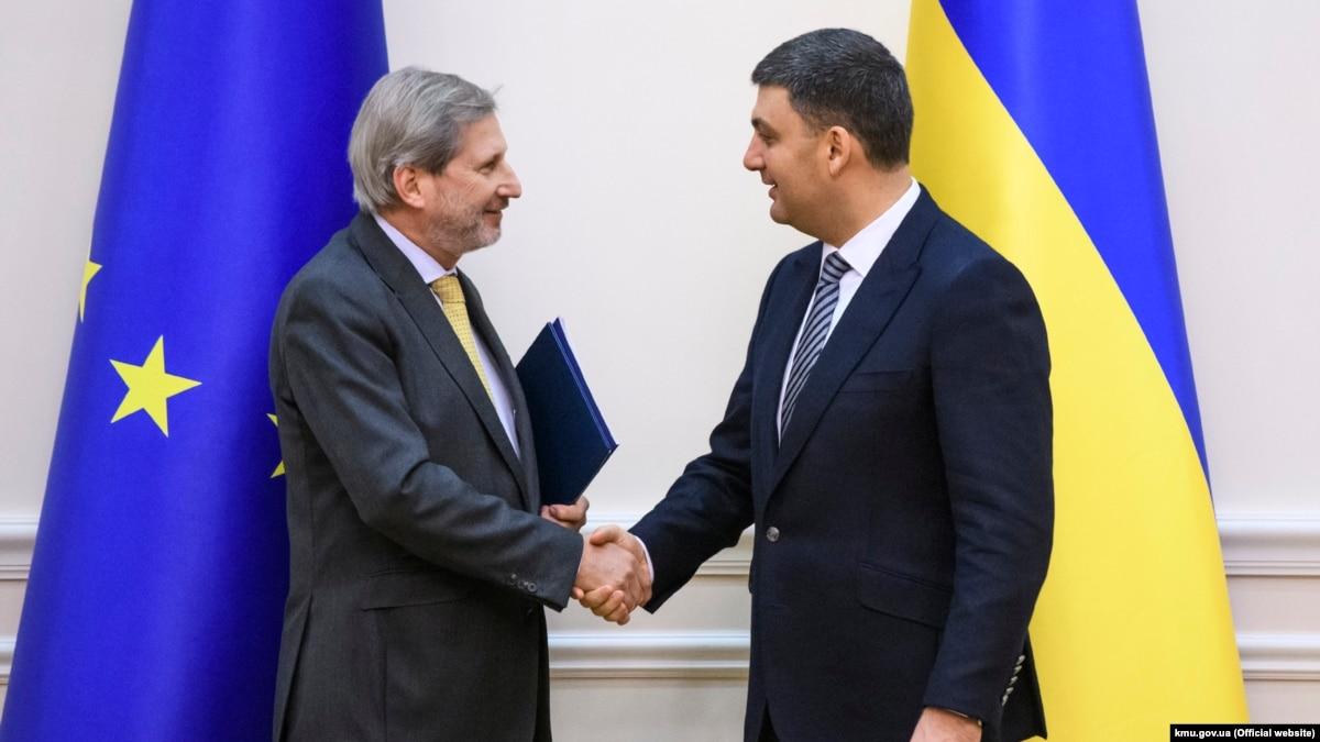 Еврокомиссар Ган рассказал об успехах и неудачах украинского правительства