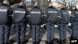Белорусские полицейские. Иллюстративное фото.