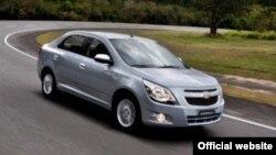 Такий вигляд має Chevrolet Cobalt, який уже активно експлуатують у Південній Америці