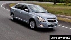 Автомобиль Chevrolet Cobalt. Иллюстративное фото.